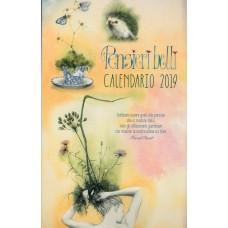 Calendario (Kalendarz) 2019-Pensieri belli
