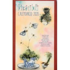 Calendario (Kalendarz) 2020-Pensieri belli