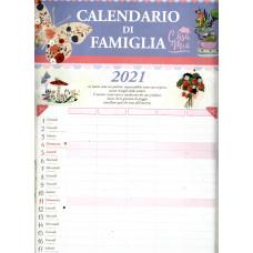 Calendario (Kalendarz) 2021 di famiglia Casa mia