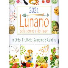 Calendario (Kalendarz) 2021 Lunario delle Semine