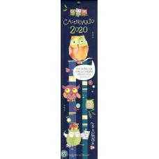 Calendario piccolo (Kalendarz mały) 2020 Io gufo e tu