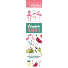 Calendario piccolo (Kalendarz mały) 2021 - Love Colors