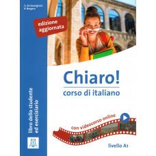 Chiaro! A1 - edizione aggiornata -książka ucznia