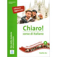 Chiaro! A2 - edizione aggiornata -książka ucznia