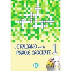 L'italiano con le parole crociate 1 + cd