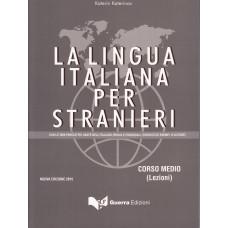 La lingua italiana per stranieri Corso medio - lezioni - nowa edycja