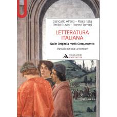 Letteratura italiana vol 1