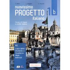 Nuovissimo Progetto italiano 1 b - Książka ucznia i ćwiczenia