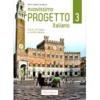 Nuovissimo Progetto italiano3 -Quaderno degli esercizi (+ CD audio)