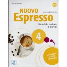 Nuovo Espresso 4 - Podręcznik ucznia + CD audio