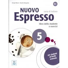 Nuovo Espresso 5 - Podręcznik ucznia + CD audio