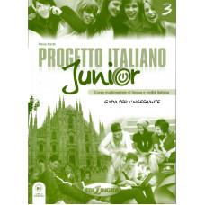 Progetto italiano Junior 3 - Guida per l'insegnante