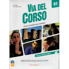 Via del Corso B2+cd audio