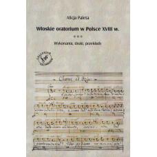 Włoskie oratorium w Polsce XVIII w