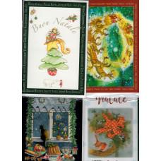Chiudi pacco kartka okolicznościowa duza Buon Natale