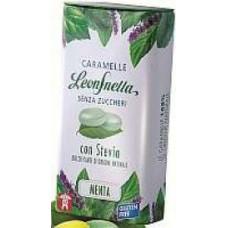 Caramelle Menta - Leon Snella senza zucchero con Stevia